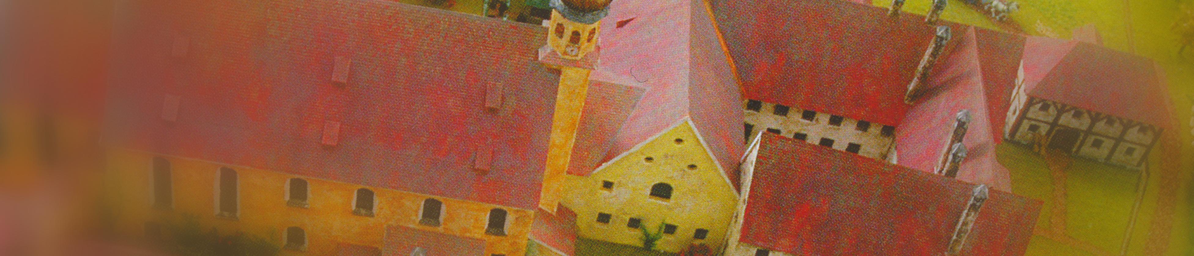Klostermodell - Zustand um 1800 - Bild 1