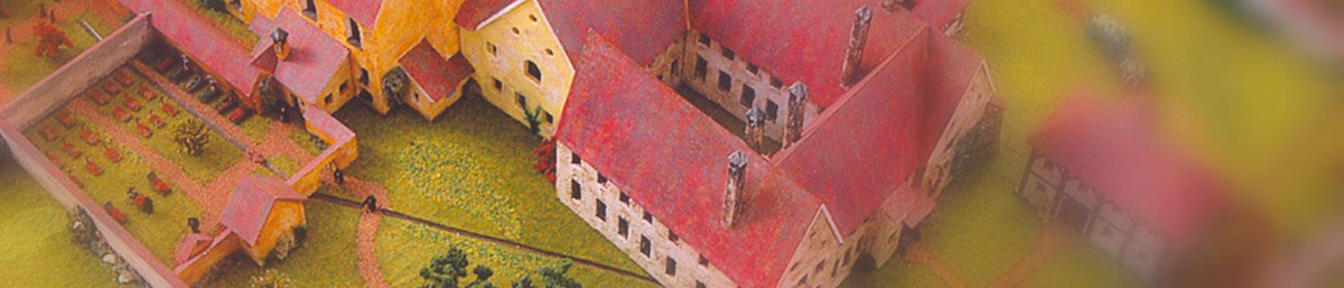 Klostermodell - Zustand um 1800 - Bild 2